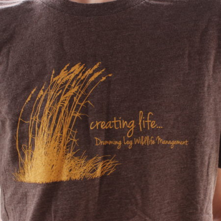 Drumming Log Wildlife Management T-Shirt
